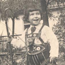 Rafael de niño